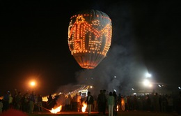 Thót tim với Lễ hội khinh khí cầu mạo hiểm tại Myanmar