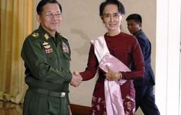 Quân đội Myanmar cam kết hợp tác với Chính phủ mới