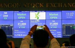 Thị trường chứng khoán Myanmar chính thức có phiên giao dịch đầu tiên