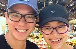 Hồ Hạnh Nhi và chồng khoe cuộc sống hạnh phúc, tâm đầu ý hợp