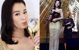 Hồ Hạnh Nhi hạnh phúc khi lần 3 giành giải Nữ diễn viên chính xuất sắc