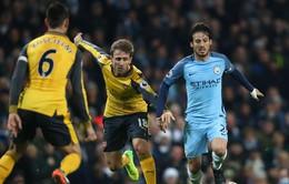 HLV Wenger hứa Arsenal sẽ chơi tấn công trước Man City