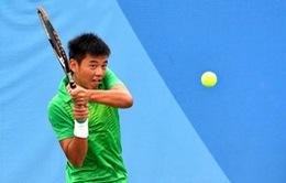 Lý Hoàng Nam tụt 31 bậc trên bảng xếp hạng ATP