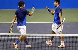 Cặp đôi Hoàng Nam - Hoàng Thiên vào vòng 2 Vietnam Open 2016