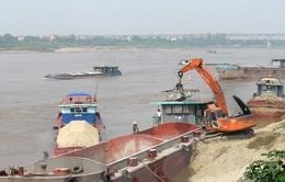 Báo động tình trạng khai thác tràn lan tài nguyên cát