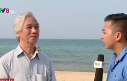 """""""Vệt nước đỏ dọc bờ biển Quảng Bình có thể là thủy triều đỏ"""""""