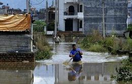 Lũ lụt và lở đất ở Nepal, ít nhất 58 người thiệt mạng