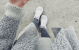 Diện đồ đa phong cách với giày thể thao