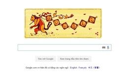 Google thay áo chào đón Tết Bính Thân 2016