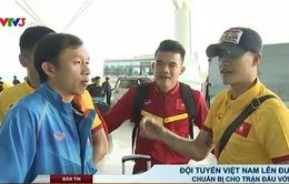 Đội tuyển quốc gia Việt Nam lên đường tới Iran