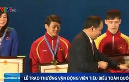 Vinh quang thể thao Việt Nam: Vinh danh các VĐV tiêu biểu năm 2015