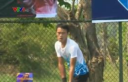 Giải quần vợt nam toàn quốc: Phạm Minh Tuấn dễ dàng lọt vào tứ kết