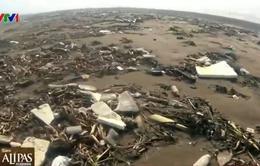 Việt Nam có nhiều bãi biển đẹp nhưng... có quá nhiều rác