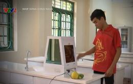 Học sinh chế tạo thành công máy diệt khuẩn đa năng