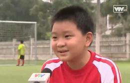 Độc đáo lớp bóng đá chống béo phì tại Thanh Hóa