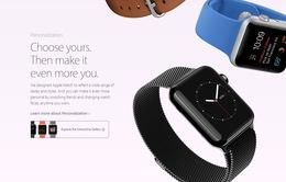 """Apple Watch có thêm phiên bản """"độc"""" cho từng khách hàng"""