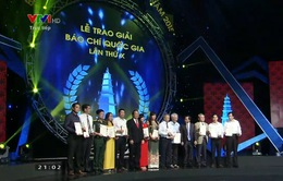 Đài THVN giành 4 giải Báo chí Quốc gia 2015