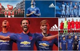 Premier League 2016/2017 và toàn bộ 20 mẫu áo đấu mới