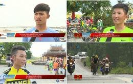 Giải xe đạp quốc tế VTV Cúp Tôn Hoa Sen 2016: Cảm nhận từ những cua-rơ trẻ!