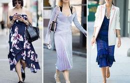Những nét chấm phá điệu đà ở Tuần lễ thời trang New York