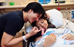 Vương Lực Hoành hạnh phúc chào đón con gái thứ 2
