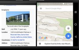 Android N cho phép hiển thị cửa sổ Chrome trên 2 nửa màn hình