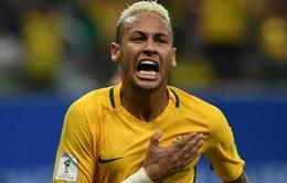 """""""Người hùng"""" Neymar giúp Brazil đánh gục Colombia trên sân nhà"""
