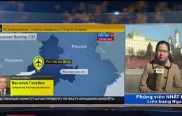 Rơi máy bay tại Nga: Tất cả hành khách là người Nga