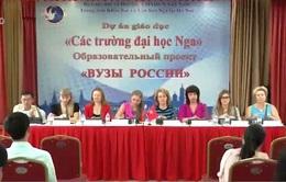 Nga sẽ dành cho Việt Nam 1.000 học bổng vào năm 2018