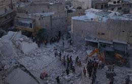 Syria: Ít nhất 15 dân thường thiệt mạng trong vụ không kích ở Aleppo