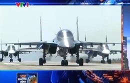 Nga khẳng định tiếp tục không kích chống khủng bố ở Syria