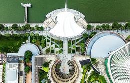 Ngắm Singapore rất lạ nhìn từ trên cao