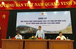 Điều chỉnh quy hoạch ngành than Việt Nam đến năm 2020