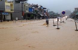 Mưa lớn gây ngập lụt tại Quảng Ninh
