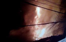 Nghệ An: Cháy chợ trong đêm, thiệt hại ước tính 2 tỷ đồng