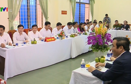 Chủ nhiệm Ủy ban Kiểm tra Trung ương Trần Quốc Vượng làm việc tại Nghệ An