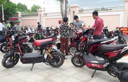 Hôm nay, bắt đầu xử phạt xe máy điện không đăng ký