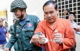 Nghị sĩ Campuchia lĩnh án tù vì xuyên tạc vấn đề biên giới Việt Nam