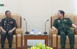 Bộ trưởng Bộ Quốc phòng Ngô Xuân Lịch tiếp Quốc vụ khanh Bộ Quốc phòng Campuchia