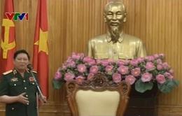 Đại tướng Ngô Xuân Lịch kiểm tra công tác bầu cử tại Hà Nam
