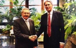 Ngoại trưởng Anh gặp Chủ tịch Cuba Raul Castro