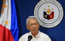 Philippines bác bỏ đối thoại có điều kiện với Trung Quốc