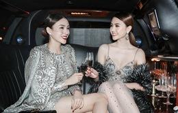 Ngọc Duyên và Lê Hà lộng lẫy tại show Victoria's Secret 2016