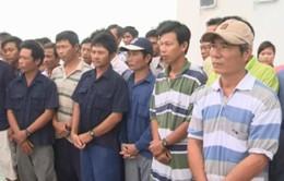 36 ngư dân bị bắt giữ ở Brunei được về quê ăn Tết