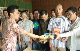 Thêm 17 ngư dân được Indonesia trao trả về nước