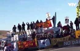 Hàng trăm người biểu tình bị bắt giữ tại bang North Dakota, Mỹ