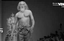 """Người mẫu nam 80 tuổi """"nóng bỏng"""" nhất Trung Quốc"""