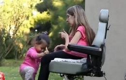 Quyết định sinh con vĩ đại của người mẹ khuyết tật