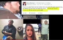 Tuyệt vọng tìm người thân sau vụ khủng bố ở Brussels