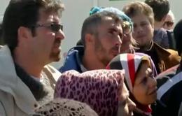 Hy Lạp bắt đầu sơ tán trại tị nạn ở biên giới với Macedonia